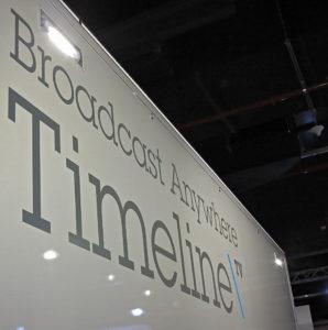 Timeline, OB van, Ü-Wagen