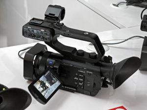 Sony, 4K-Handheld, Camcorder, HXR-NX80