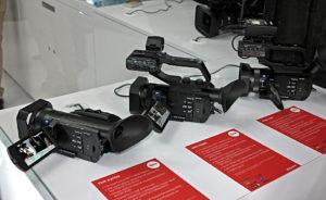Sony, IBC2017, 4K-Handhelds