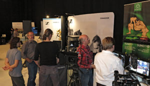 BBC, Bavarian Broadcast Convention, Atomos, Sennheiser
