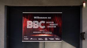 BBC, Bavarian Broadcast Convention, Willkommen, Banner