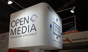 OpenMedia, IBC2017, Stand