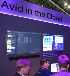 Avid, IBC2017, Cloud