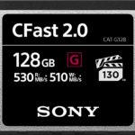 Sony bietet jetzt auch CFast-Speicherkarten für Profis an