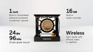 drahtloses Studiomikrofon Mikme