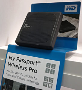My Passport Wireless Pro, Western Digital