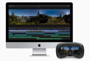 FCPX 10.4, 360°-VR-Videobearbeitung, Apple
