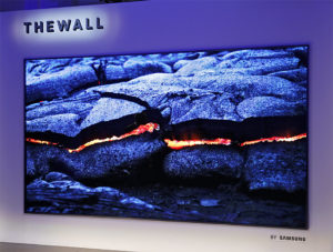 MicroLED-Technologie, Display, Samsung, The Wall