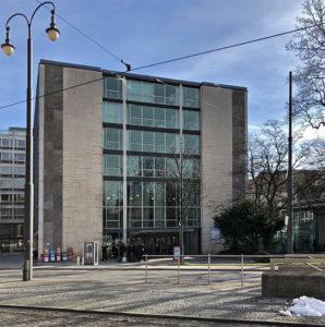 Justizpalast München, Landesgericht, IRT-Skandal