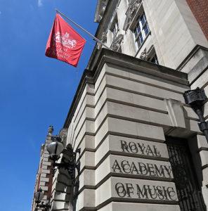Royal Academy of Music, Eingang