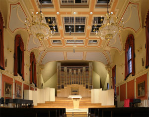 Royal Academy of Music, Saal, Orgel