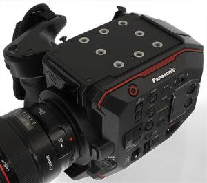 Kamera, Panasonic EVA1, Deckel