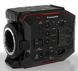 Kamera, Panasonic EVA1, Totale, EF-Mount