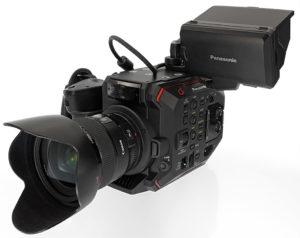 Panasonic EVA1, Kamera