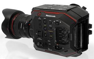 Kamera, Panasonic EVA1, Totale