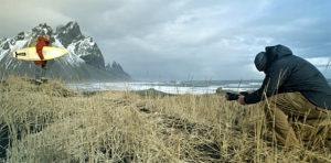 Lucas Gilman, Island, Dreh