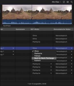 FCPX 10.4, Screen