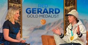 Red Gerard, Rebecca Lowe, NBC Olympics