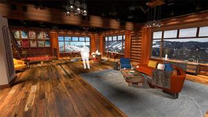 IBC Rooftop Winter Lodge Set, NBC Oympics