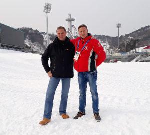 Pyeongchang, Gunnar Darge, Hagen Schuler, Olympische Winterspiele