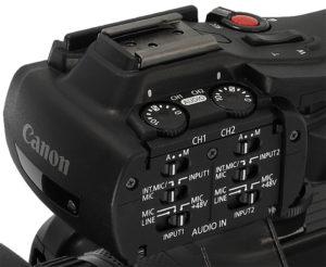 Canon, Camcorder, XF405, Audio
