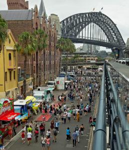 Australia Day, Sydney, Circular Quay