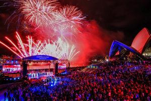 Australia Day, Sydney, Oper, Feuerwerk