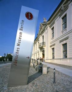 Jüdischen Museum Berlin, Fassade