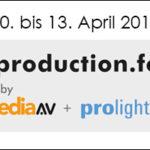 Live Production Forum auf der Prolight+Sound