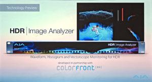 Aja, HDR, Image Analyzer, © Nonkonform