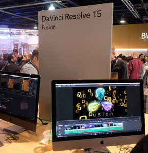 NAB2018, Blackmagic, DaVinci Resolve 15, © Nonkonform