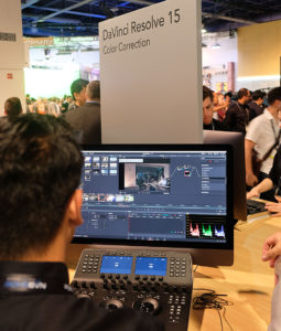 NAB2018, Blackmagic, DaVinci Resolve 15, Grading, © Nonkonform