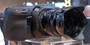 Die Kamera hat einen MFT-ObjektivanschlussBlackmagic, Pocket Cinema Camera 4K
