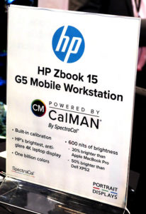 Spectracal, CalMan, HP, ZBook 15, © Nonkonform