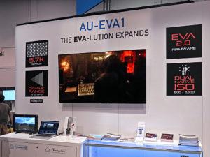 Kamera EVA1, Panasonic, Firmware 2.0