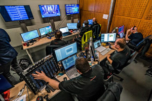ESC 2018, Control Room, © Larmann