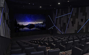 LED-Screen im Kino, Samsung, Onyx
