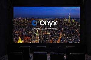 LED-Screen im Kino, Samsung, Onyx