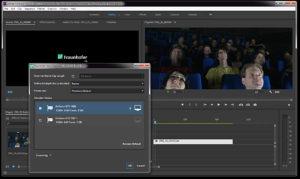 NAB2018, Fraunhofer IIS, JPEG XS, Premiere, Plug-In