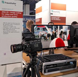 NAB2018, Fraunhofer IIS, JPEG XS, © Nonkonform