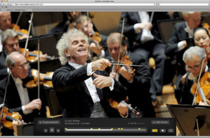 Berliner Philharmoniker, Screenshot
