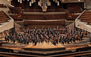Berliner Philharmoniker, Orchester, Bühne