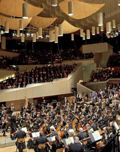 Berliner Philharmoniker, Saal