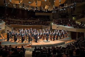Berliner Philharmoniker, Bühne