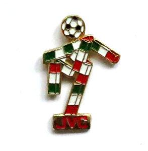 JVC, Pin, Fußball-WM 1990
