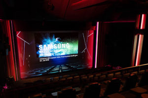 Cinema-LED-Screen, Samsung, Traumpalast
