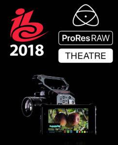 Atomos ProRes Raw Theater