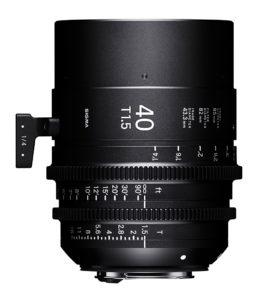 Sigma, Cine, Objektiv, 40 mm