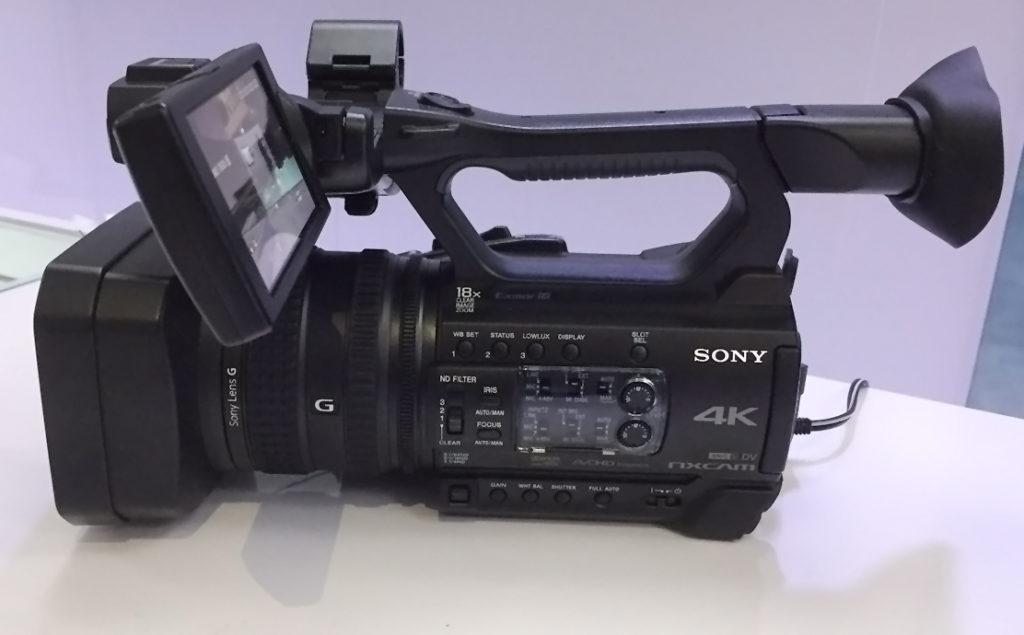 Neuer 4K Camcorder von Sony