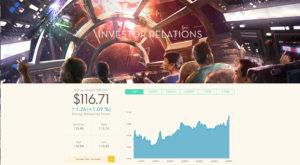 Screenshot Website Disney